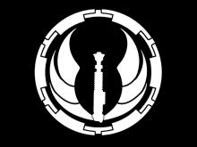 SB logo White on black